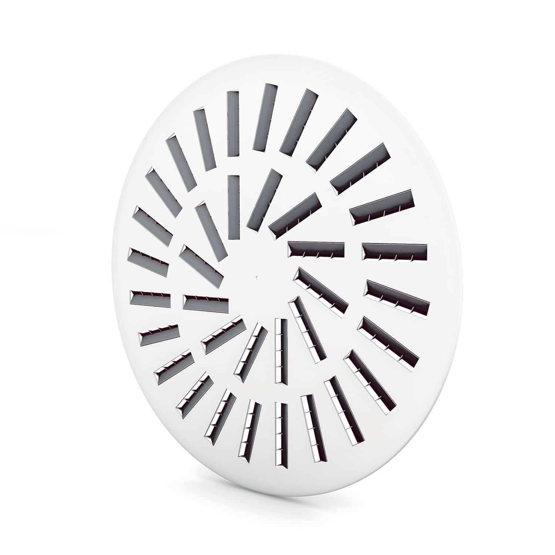 WT500 Circular Swirl Diffuser | Grilles | Q-nis