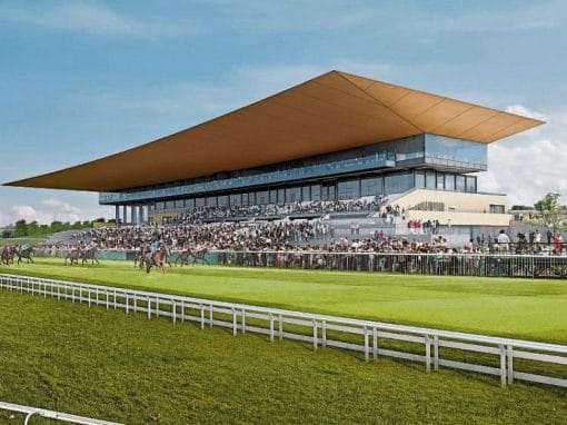 Curragh Race Course Main Stand